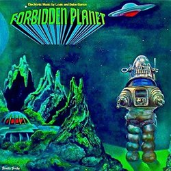 Forbidden Planet Soundtrack (Bebe Barron, Louis Barron) - Carátula