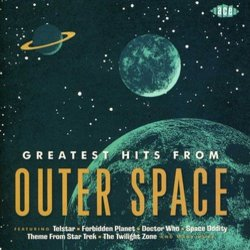Greatest Hits From Outer Space Ścieżka dźwiękowa (Various Artists) - Okładka CD