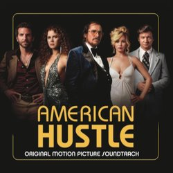 American Hustle Soundtrack (Various Artists, Danny Elfman) - CD cover