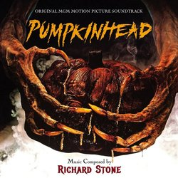 Pumpkin Head Trilha sonora (Richard Stone) - capa de CD