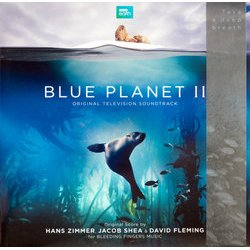 Blue Planet II Soundtrack (Various Artists, David Fleming, Jacob Shea, Hans Zimmer) - CD cover