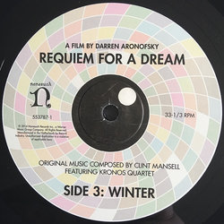 Requiem For A Dream Soundtrack (Various Artists, Clint Mansell) - cd-inlay