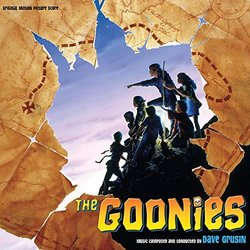 The Goonies Colonna sonora (Dave Grusin) - Copertina del CD