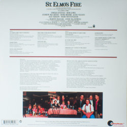 St. Elmo's Fire Colonna sonora (Various Artists) - Copertina posteriore CD