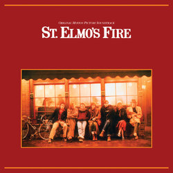 St. Elmo's Fire Colonna sonora (Various Artists) - Copertina del CD