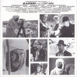 Raiders of the Lost Ark Soundtrack (John Williams) - cd-inlay