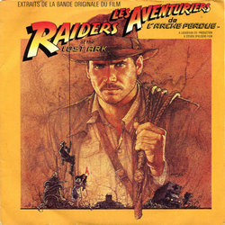Les Aventuriers de l'Arche Perdue Soundtrack (John Williams) - CD cover