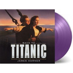 Back To Titanic Bande Originale (James Horner) - cd-inlay