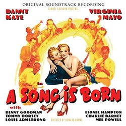 A Song Is Born Soundtrack (Hugo Friedhofer, Emil Newman) - CD cover