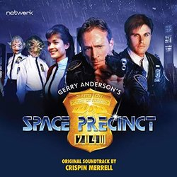 Space Precinct Soundtrack (Crispin Merrell) - CD cover