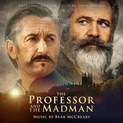 The Professor and the Madman Bande Originale (Bear McCreary) - Pochettes de CD