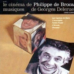 Le Cinéma de Philippe de Broca 1969-1988 Soundtrack (Georges Delerue) - CD cover