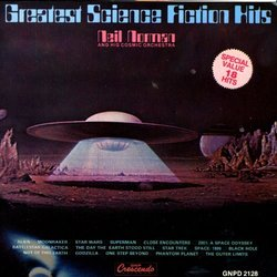 Greatest Science Fiction Hits Soundtrack (Various Artists, Neil Norman) - Carátula