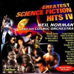 Greatest Science Fiction Hits IV Soundtrack (Various Artists) - CD cover