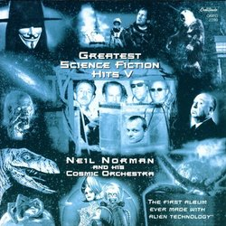Greatest Science Fiction Hits V Soundtrack (Various Artists) - CD cover