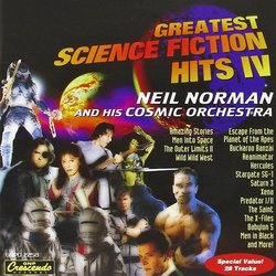 Greatest Science Fiction Hits IV Bande Originale (Various Artists) - Pochettes de CD