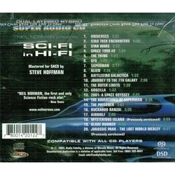 Sci-Fi In Hi-Fi Soundtrack (Various Artists) - CD Achterzijde