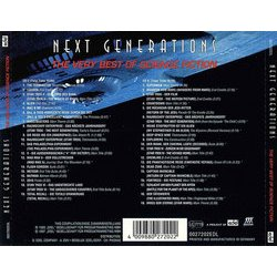 Next Generations Soundtrack (Various Artists) - CD Back cover