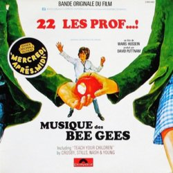 22 v'la les prof...! Soundtrack (Various Artists, The Bee Gees, Serge Gainsbourg, Jean-Claude Vannier) - CD cover