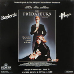 Les Prédateurs Soundtrack (Various Artists, Denny Jaeger, Michel Rubini) - CD cover