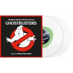 Ghostbusters Soundtrack (Various Artists, Elmer Bernstein) - cd-inlay