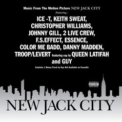 New Jack City Soundtrack (Various Artists) - CD cover