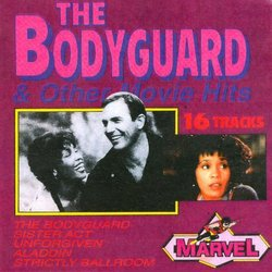The Bodyguard and Other Movie Hits Soundtrack (Various Artists) - CD cover