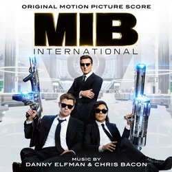 Men in Black: International Colonna sonora (Chris Bacon, Danny Elfman) - Copertina del CD