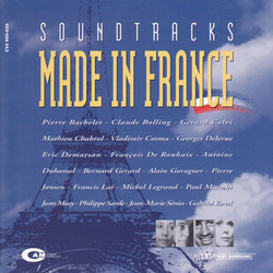 Soundtracks: Made in France 声带 (Various Artists) - CD封面