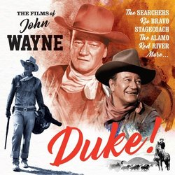 Duke! - The Films of John Wayne Soundtrack (Various Artists) - CD-Cover