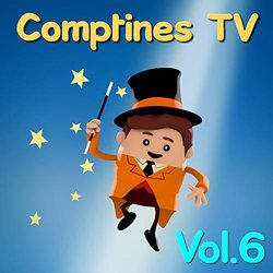 Comptines TV, vol. 6 Soundtrack (Various Artists) - CD cover