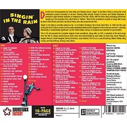 Singin' in the Rain Bande Originale (Various Artists) - CD Arrière