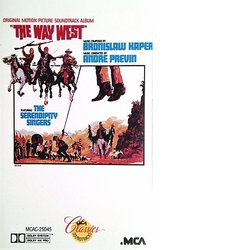 The Way West Bande Originale (Bronislaw Kaper, André Previn) - Pochettes de CD