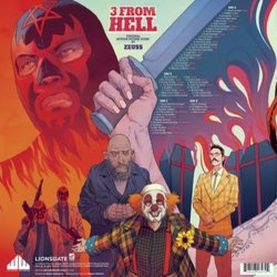 3 from Hell Colonna sonora (Various Artists) - Copertina posteriore CD