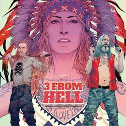 3 from Hell Colonna sonora (Various Artists) - Copertina del CD