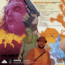 The Devil's Rejects Soundtrack (Various Artists) - CD-Rückdeckel