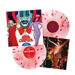 House of 1000 Corpses Trilha sonora (Various Artists, Scott Humphrey, Rob Zombie) - CD-inlay