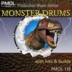 Monster Drums Soundtrack (PMOL Music) - CD cover