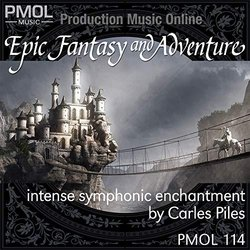 Epic Fantasy And Adventure Soundtrack (Carles Piles) - CD-Cover