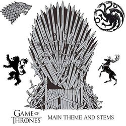 Game Of Thrones Main Theme And Stems Colonna sonora (Kenji ) - Copertina del CD