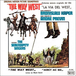 The  Way West Soundtrack (Bronislaw Kaper, André Previn) - CD cover