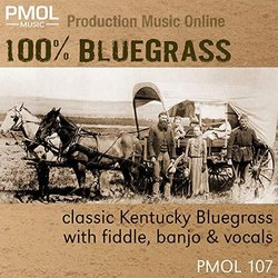 100% Bluegrass Soundtrack (PMOL Music) - CD cover