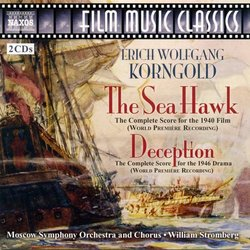 The Sea Hawk / Deception Soundtrack (Erich Wolfgang Korngold) - CD cover