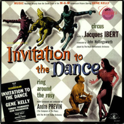 Invitation to the Dance Soundtrack (Jacques Ibert, André Previn) - CD-Cover