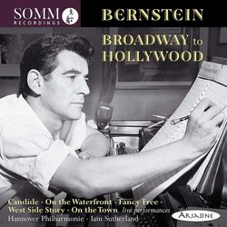 Bernstein: Broadway to Hollywood 聲帶 (Leonard Bernstein) - CD封面