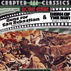 Guns for San Sebastian & Dark of the Sun Colonna sonora (Jacques Loussier, Ennio Morricone) - Copertina del CD