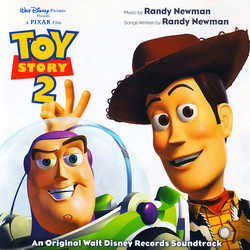 Toy Story 2 Soundtrack (Randy Newman) - CD cover