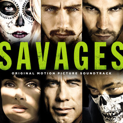 Savages Soundtrack (Various Artists, Adam Peters) - CD cover