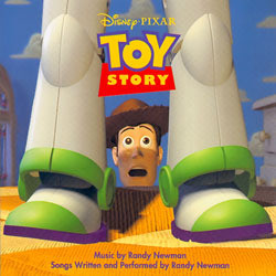 Toy Story Colonna sonora (Randy Newman) - Copertina del CD