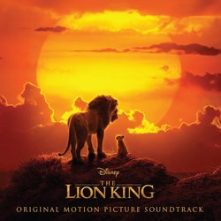 The Lion King Soundtrack (Various Artists, Hans Zimmer) - CD cover